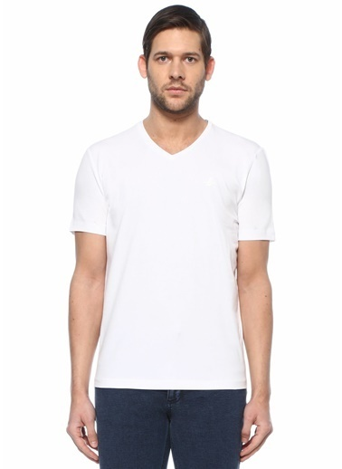 Beymen Club Polo Yaka T-shirt Beyaz